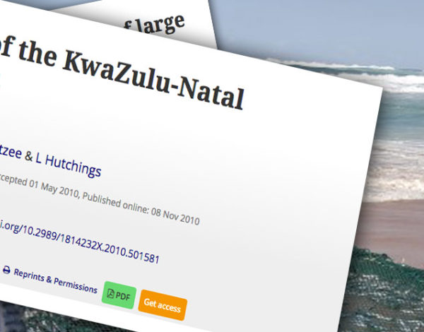 Overview of the KwaZulu-Natal sardine run